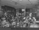 Biology Class (Minard Hall), North Dakota Agricultural College