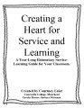 Creating a Heart for Service and Learning in Students