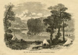 Red River country, camp at Matawan Bridge