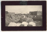 Carnegie Library construction site, Fargo, N.D.