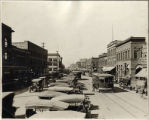 Broadway looking north from south of N.P. Ave., Fargo, N.D.