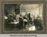 Office inside Pembina County Court House, Cavalier, N.D.