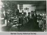 Interior of Sever Reiten Hardware store, Hastings, N.D.