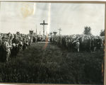Dedication at St. Stanislaus Cemetery, Warsaw, N.D.