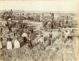 Threshing scene, Acton Township, Walsh County, N.D.