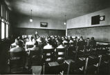 Dickinson State Normal School classroom, Dickinson, N.D.