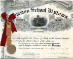 Esther Putnam's common school diploma