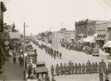 Parade on Dakota Avenue, Wahpeton, N.D.