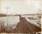 Flood in Wahpeton, N.D.