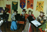 Band playing for the Madrigal Dinner, Bismarck, N.D.