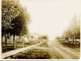 A glimpse of Second Ave looking south, Wimbledon, N.D.