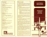Electrical Lineworker program brochure