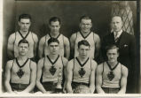 Enderlin Red Devils basketball team, Enderlin, N.D.