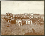 Threshing in Pembina County, N.D.