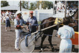 Harness racing at the Pembina County Fair