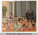 Death of the King in Bismarck Junior College production of The King and I, Bismarck, N.D.