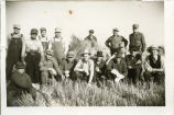Soo Line threshing and shocking crews during World War II, Enderlin, N.D.
