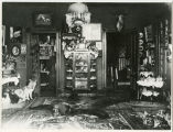 Interior of David H. Houston's house, Hunter, N.D.