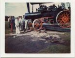 Moving tractors from Hemp Museum in Rochester, Minn. to Bonanzaville, West Fargo, N.D.