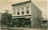 O. C. Hustad Jeweler, Tower City, N.D.