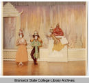 Uncle Tom's Cabin scene in Bismarck Junior College's production of The King and I, Bismarck, N.D.