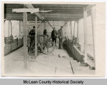 Below deck on steamboat, McLean County, N.D.