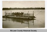 Cable ferry, McLean County, N.D.