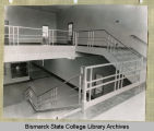 Hallway of general purpose building at Bismarck Junior College, Bismarck, N.D.