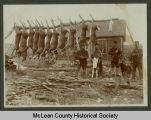 Deer hunters, McLean County, N.D.
