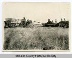 Threshing scene, McLean County, N.D.