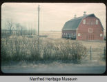 Lester Burkum barn near Manfred, N.D.