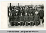 Bismarck Junior College Women's Track Team, Bismarck, N.D.