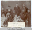 Albert Schulz family, Crystal, N.D.