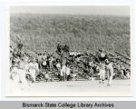 Men's football at Bismarck Junior College, Bismarck, N.D.