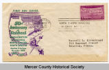 50th anniversary of North Dakota statehood envelope