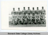 Men's baseball team at Bismarck State College, Bismarck, N.D.