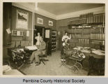 Office of the County Auditor, Pembina, N.D.