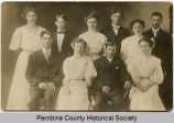 High school graduating class of 1908, Cavalier, N.D.