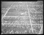 Aerial view of damage, N. Fargo