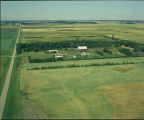 Aerial over Howard A. Fedje farm, Section 9, Barton Township, Pierce County, N.D.