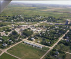 Aerial over Willow City, N.D.