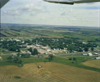 Aerial over Rolette, N.D.