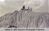 Badlands formations, McKenzie County, N.D.