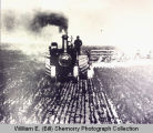 Steam tractor, North Dakota
