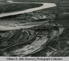 Garrison Dam, Aerial Progress Shot #2, N.D.