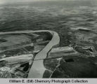Garrison Dam, Aerial Progress Shot #4, N.D.