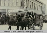 Stagecoach in parade