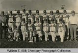 Grenora Gophers baseball team portrait