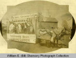 Greengard Bros. float in parade, Williston, N.D.