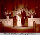Larson-Smith wedding, Williston, N.D.